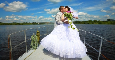 Свадьба на теплоходе в Москве недорого